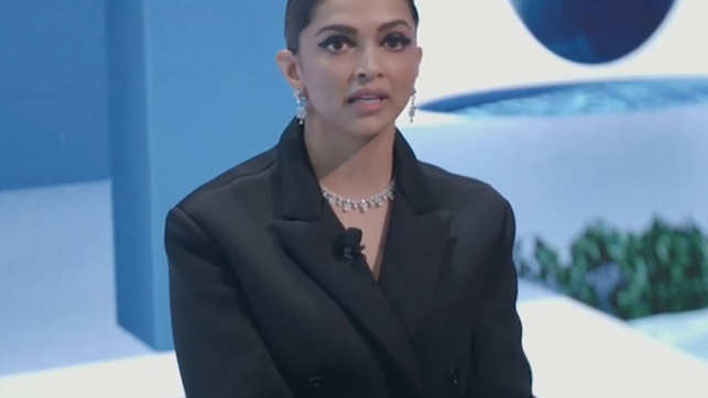 My mother first recognised the signs of depression in me: Deepika Padukone talks about her mental health journey, at WEF