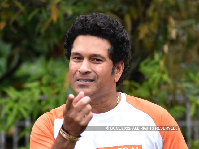 ​Sachin Tendulkar ​said he picked the right team and the right cause.