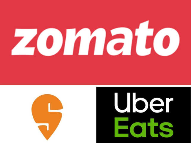 Swiggy, Zomato & Uber Eats made it to top 10 of the Buzz rankings list.