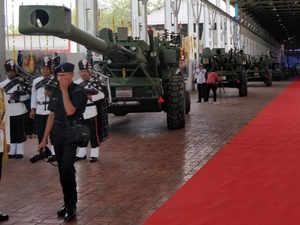 Dhanush artillery gun