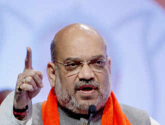 If competition to make false promises is held, Kejriwal will win first prize: Shah