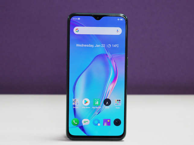 Realme X2 takes about 55 minutes to charge up fully with the 30 watt charger.