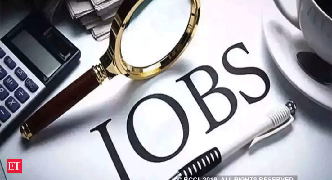 Jobs are back in formal economy