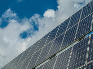 solar panel representative image