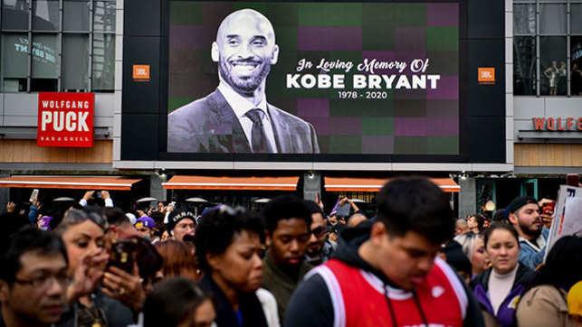 NBA legend Kobe Bryant dies at 41 in helicopter crash