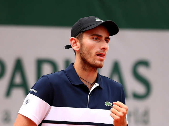 French player Elliot Benchetrit got rebuked by the umpire for asking a ball girl to peel a banana for him during a match
