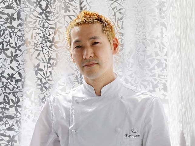 Kei ​Kobayashi, a striking figure with bleached blond hair, said Japanese cooks have earned their place at the top table of French cuisine.