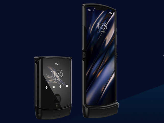 The new Razr was announced in 2019, with the design retaining elements of the old phone.