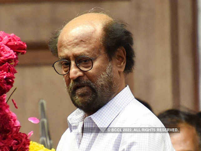 Rajinikanth also suffered minor bruises to his hand below the elbow.
