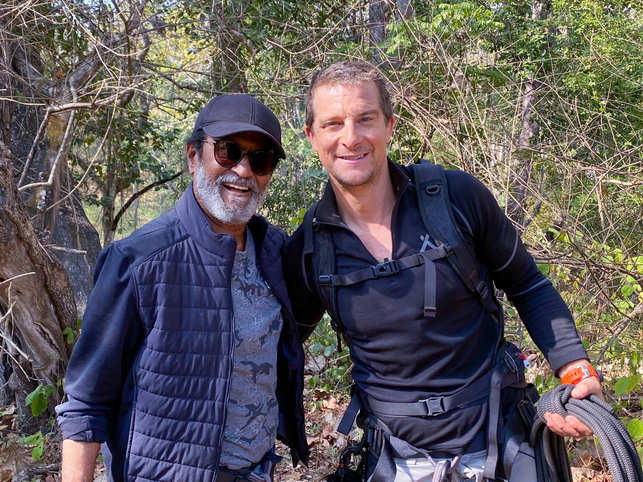 After PM Modi, Rajinikanth will appear on 'Man vs Wild', has already started shooting for the episode.