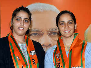 Badminton ace Saina Nehwal joins BJP, says PM Modi inspires her
