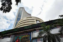 Mumbai: A view of the BSE building in Mumbai. The BSE Sensex jumped over 700 poi...