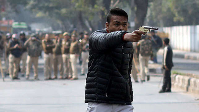 Anti-CAA protest: Man fires at Jamia University students, detained; one hurt