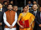 Budget 2020: FM arrives with 'Bahi Khata'