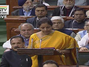 FM Sitharaman begins Budget 2020 speech with tribute to Arun Jaitley for GST