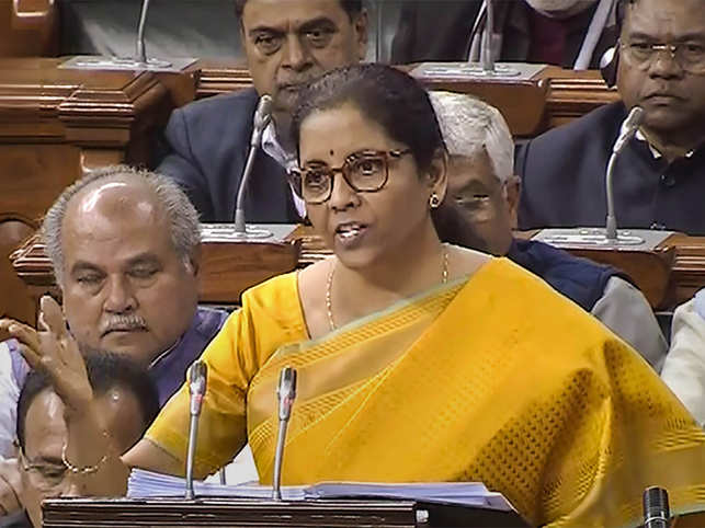 Nirmala Sitharaman underlined the three themes of this year's Budget: Aspirational India, economic development, and creating a caring society that provides ease of living for every citizen. 