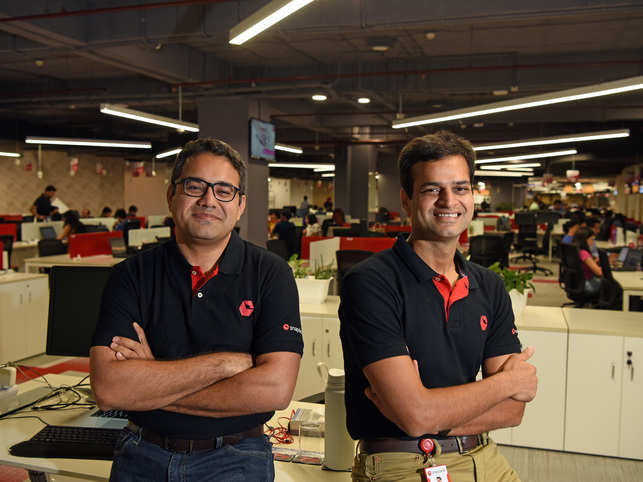 Bahl and Bansal were friends before they became business partners.