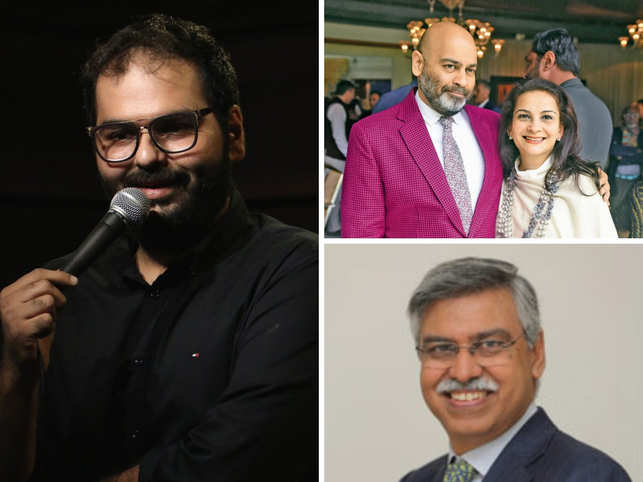 Stand-up comic's flight ban, Anupam Poddar's fashion sense & Sunil Munjal's soiree.