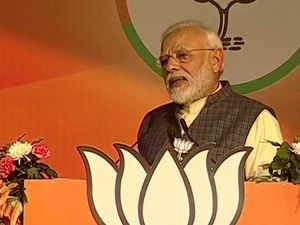 Modi delhi poll rally