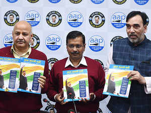 Delhi Elections 2020: Education, cleanliness, 'Deshbhakti' in curriculum among key highlights of AAP manifesto