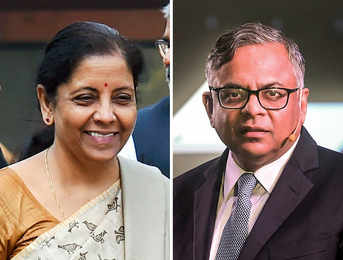 What's common between FM Nirmala Sitharaman and Tata Sons Chairman N Chandrasekaran?