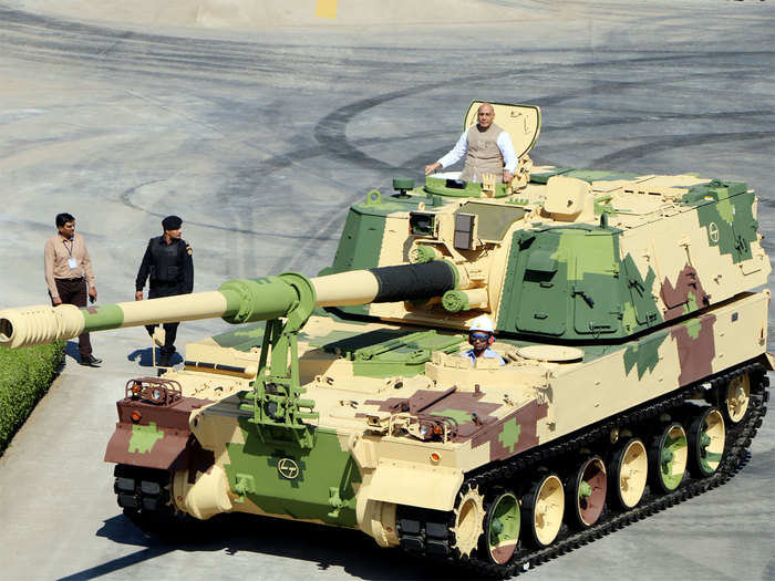 Toast of 'Make in India' but production line for Vajra artillery guns to run dry this year