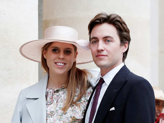Edoardo Mapelli Mozzi proposed Princess Beatrice with a stunning diamond sparkler during their trip to Italy in September 2019. 
