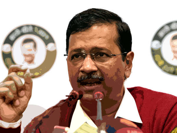 delhi exit poll results live news  arvind kejriwal set to