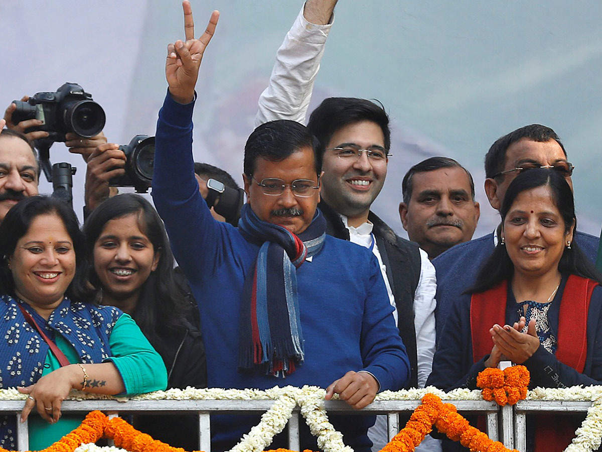 Delhi Election Results 2020 Updates Final Tally Out Aap Wins 62