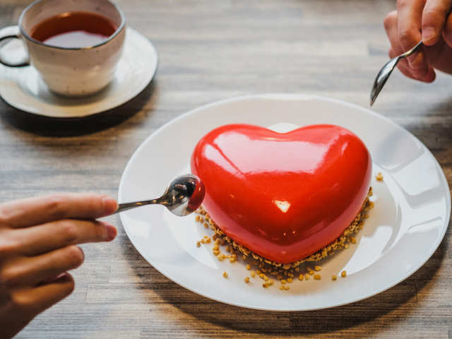 Valentine's Day special: Red velvet pastry, chocolate truffle & strawberry mousse cake recipes for date night