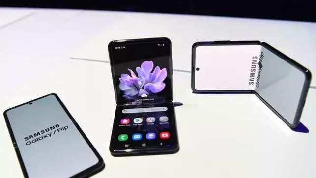 Samsung Galaxy Z Flip: Samsung unveils new foldable phone