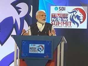 PM Narendra Modi addresses Times Now Summit 2020