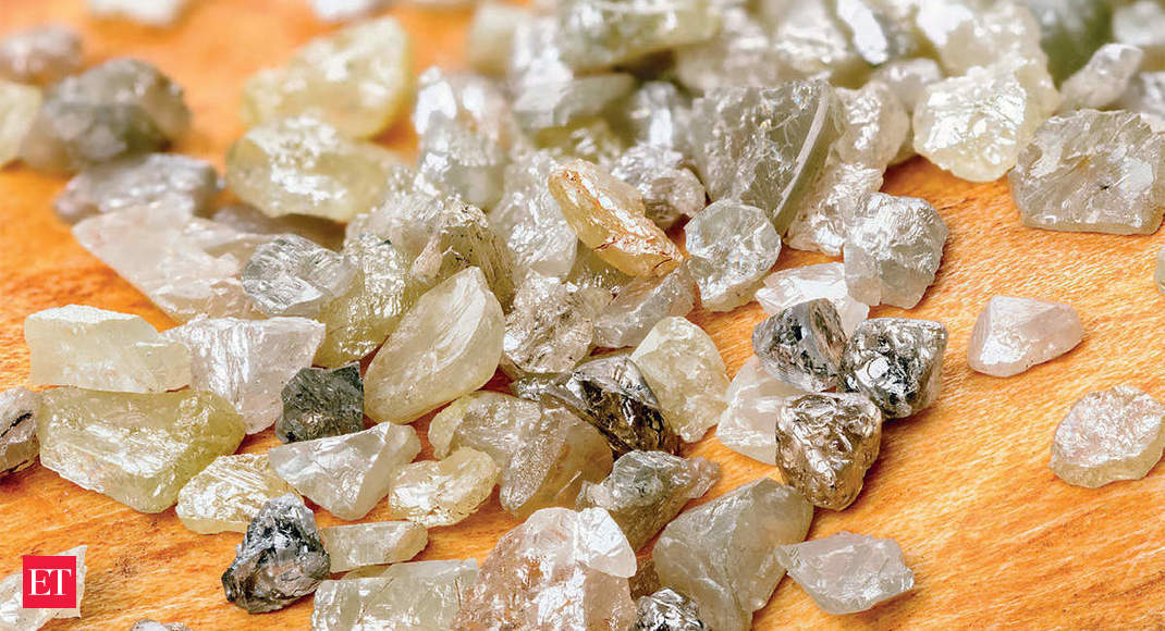 India's rough diamond imports fall sharply in the first 10 months of this financial year