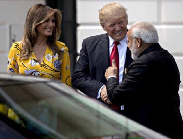 India Calling! Melania Trump is 'excited' about visit to Ahmedabad, thanks Modi in tweet