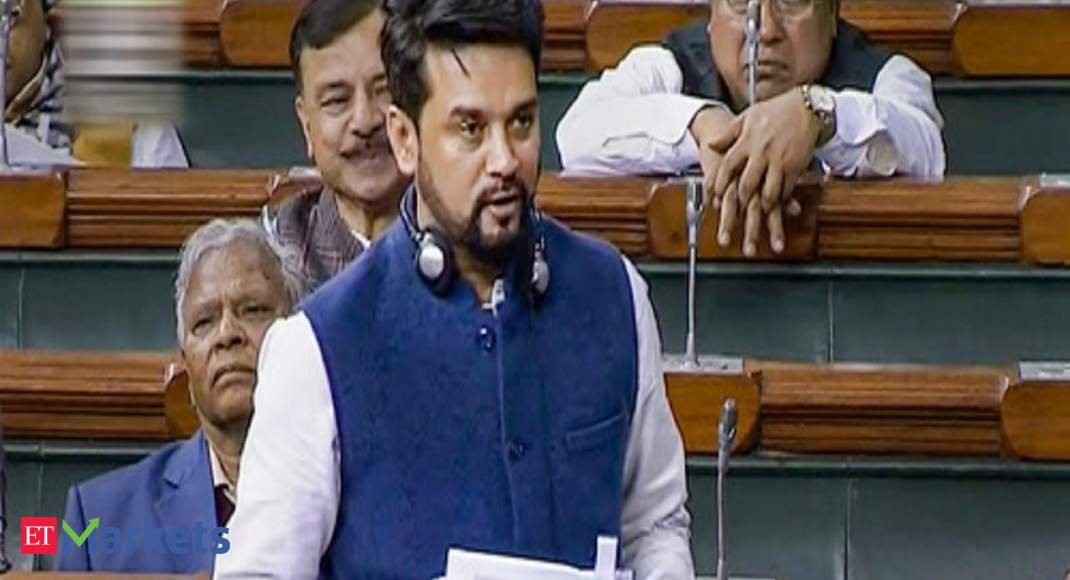 India needs a robust capital market to become a $5 trillion economy: Anurag Thakur