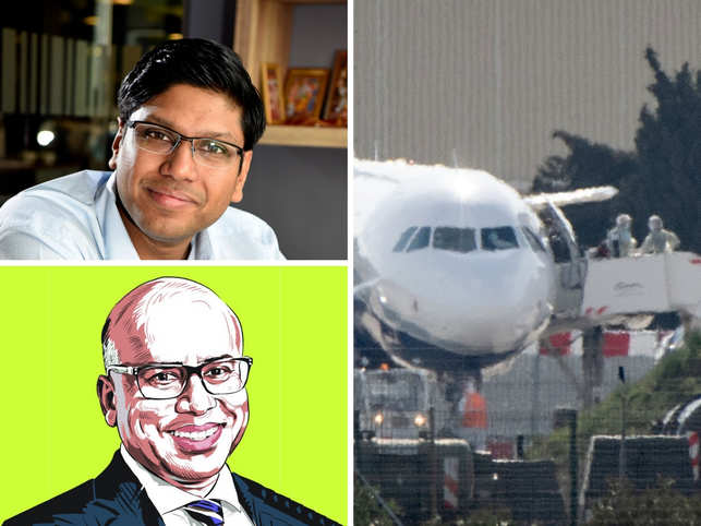 Bansal (top L) is taking lessons from Choksi; A senior executive at a Bengaluru headquartered IT firm that has recently been in the news had a bit of a coughing spell while flying back from Australia and transiting through Singapore's Changi airport. 