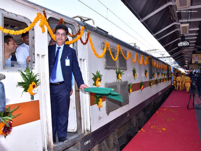 Kashi Mahakal Express: Fare scheme - Kashi Mahakal Express launched. Check  features, timings & ticket prices   The Economic Times