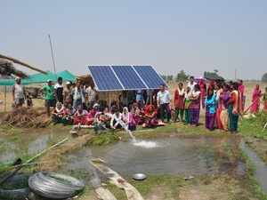 Solar pumps India