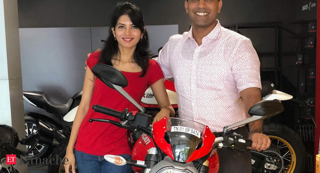 From flying planes to riding his Ducati Monster bike, here's how IndiaFilings CEO busts workplace stress