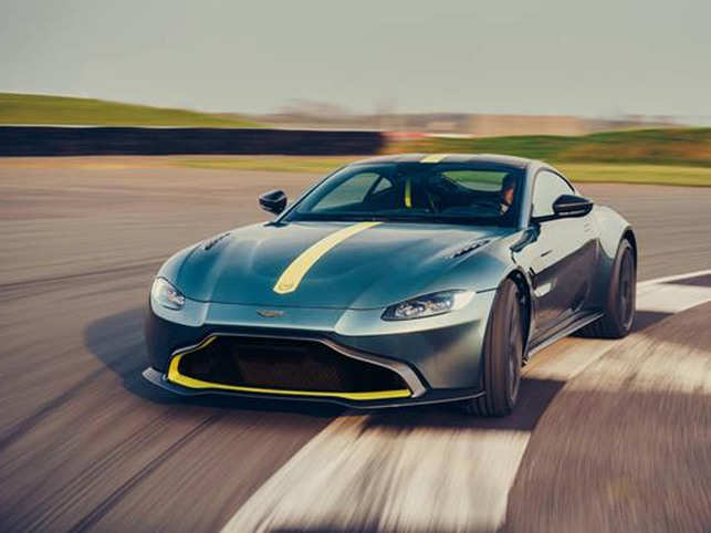 The Vantage starts at $146,000 for the manual-transmission coupe, while the roadster costs $161,000 in the U.S.