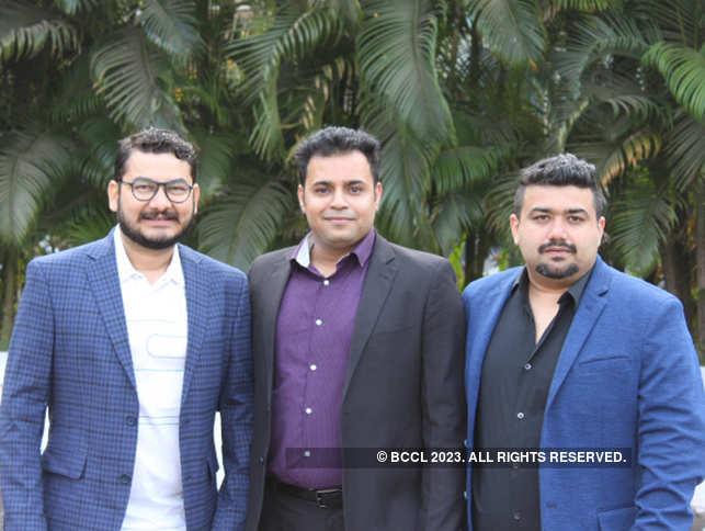 (Left to right) Deepak Dilip Singh Rahangdale, Yaman Bharadwaj and Gagan Deep Randhawa
