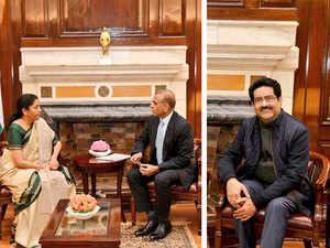 AGR crisis: Mittal, Birla meet FM Sitharaman; Govt mulls telecom fund