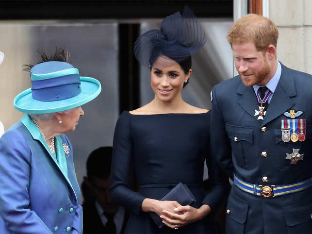 The couple's departure is a wrench for the royal family, and Queen Elizabeth II said at the time that she wished the couple had wanted to remain full-time royals.
