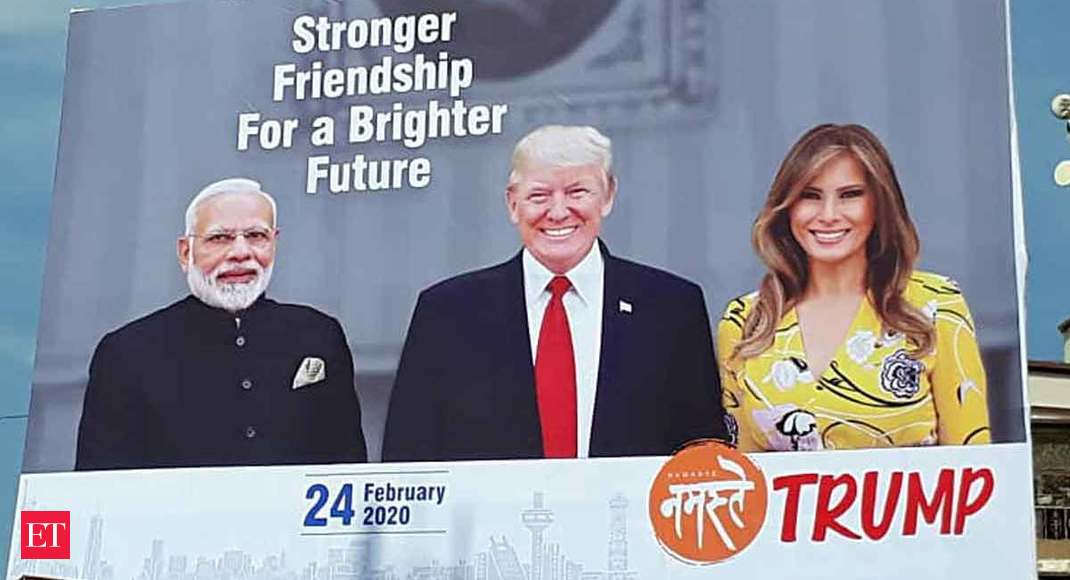 View: Trump's India trip - Full stadium and mostly empty promises