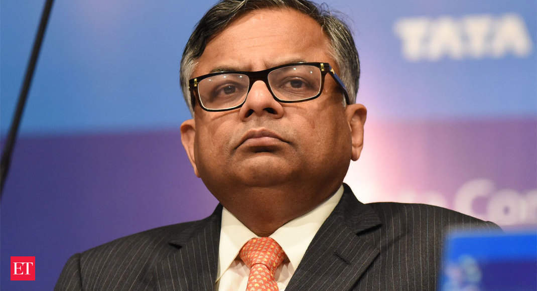Challenges keep Tata Sons' N Chandrasekaran on his toes - Economic Times thumbnail
