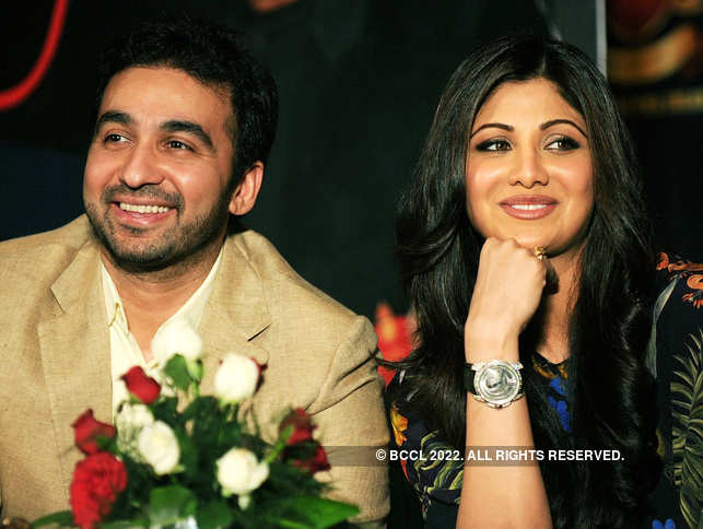 Raj Kundra ​(R) and ​Shilpa Shetty Kundra (R) welcomed their second child on February 15. ​