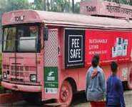 Washroom-on-wheels for women in Pune