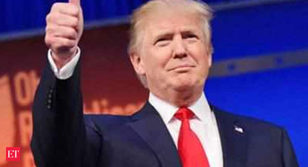 Donald Trump, sixth US President to visit India