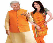 Indian dress code for Mr & Mrs Trump