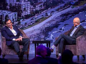 India can become premier digital society, Ambani tells Nadella at Microsoft event